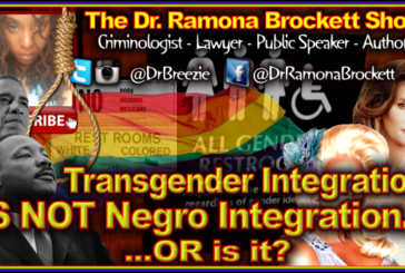 Transgender Integration IS NOT Negro Integration…OR Is It? – The Dr. Ramona Brockett Show