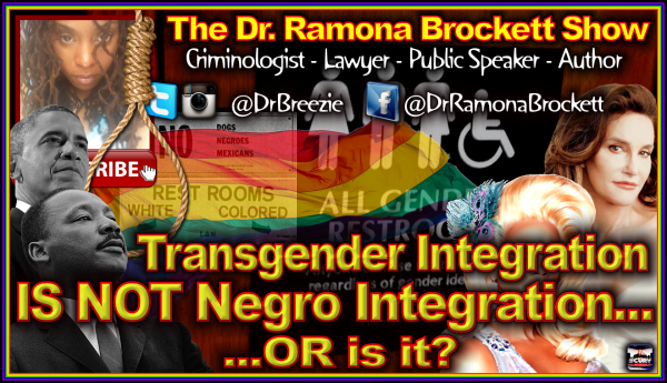 Transgender Integration IS NOT Negro Integration...OR Is It? - The Dr. Ramona Brockett Show