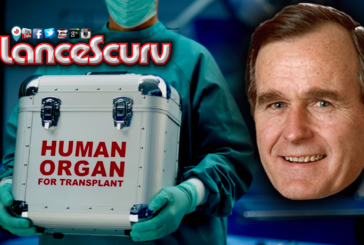 Does George Bush Sr. Possess An Organ Harvested Heart From A 17 Year Old Black Gang Member?