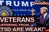 Donald Trump: Veterans Suffering From P.T.S.D. Are Weak! - The LanceScurv Show