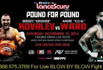 Sergey Kovalev vs. Andre Ward BLOW BY BLOW LIVE! - The LanceScurv Show