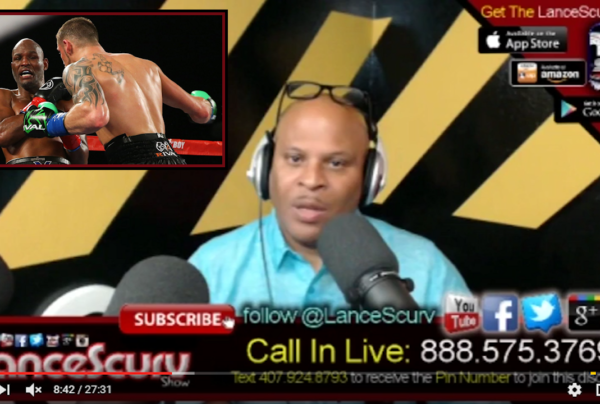 Bernard Hopkins Loss, Conscious Community Beef & Being Too Old For Drama! – The LanceScurv Show