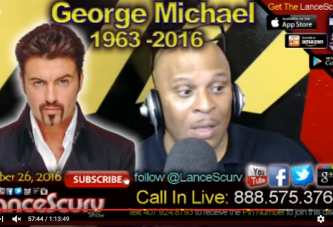 George Micheal Passes: The Certainty Of Death & The Uncertainty Of Life! - The LanceScurv Show