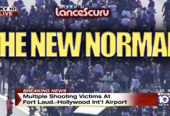 The Fort Lauderdale Airport Shooting: Business As Usual In White America's New Normal!