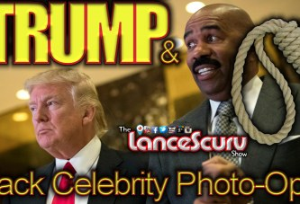 Does Donald Trump's Black Celebrity Photo-Op's Mean That He's Not Racist? - The LanceScurv Show