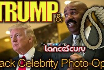 Does Donald Trump's Black Celebrity Photo-Op's Mean That He's Not Racist? - The LanceScurv Show