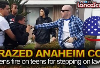 Crazed Anaheim Cop Opens Fire On Teens For Stepping On Lawn! - The LanceScurv Show