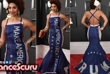 Joy Villa's 'Make America Great Again' Trump Grammy Dress: Good Business? - The LanceScurv Show