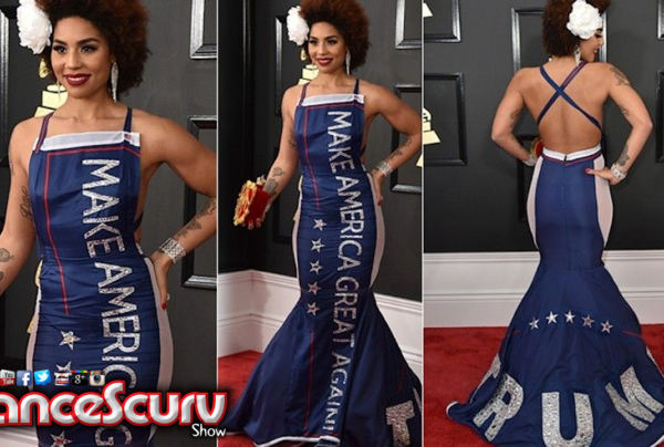 Joy Villa's 'Make America Great Again' Trump Grammy Dress: Good Business? – The LanceScurv Show
