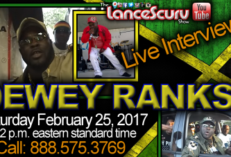 Jamaican Reggae Star Dewey Ranks Visits ScurvMedia Studios! - The LanceScurv Show