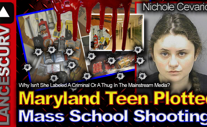 Maryland Teen Plotted Deadly Mass School Shooting! - The LanceScurv Show