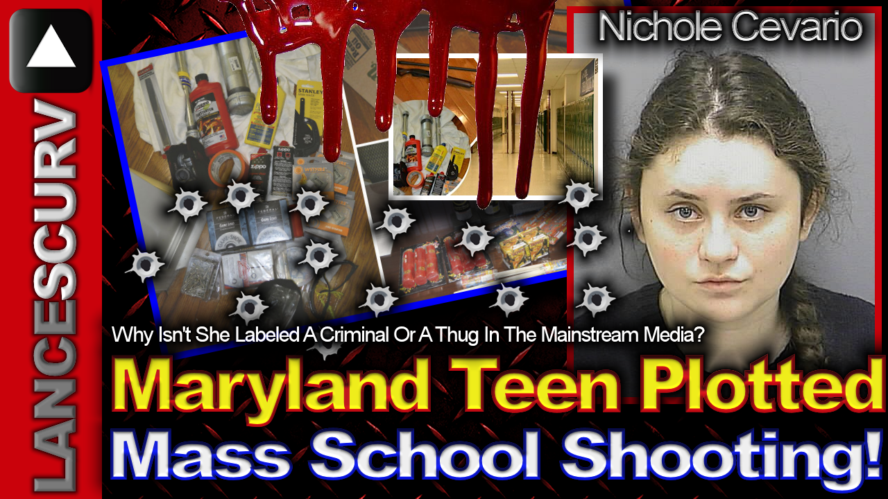 Maryland Teen Plotted Deadly Mass School Shooting ! - The LanceScurv Show