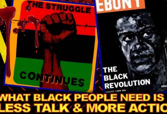 What Black People Need Is Less Talk & More Action! - The LanceScurv Show