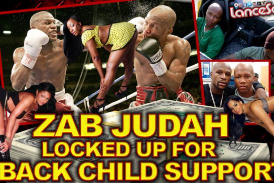 ZAB JUDAH Locked Up For Back Child Support! - The LanceScurv Show