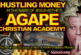 HUSTLING MONEY In The Name Of Jesus At The AGAPE CHRISTIAN ACADEMY! – The LanceScurv Show