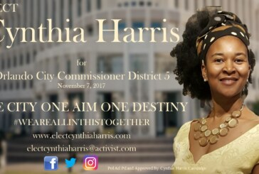 A Conversation With Orlando City Commissioner District 5 Candidate CYNTHIA HARRIS!