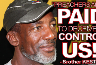 PREACHERS ARE PAID TO DECEIVE & CONTROL US! - The LanceScurv Show