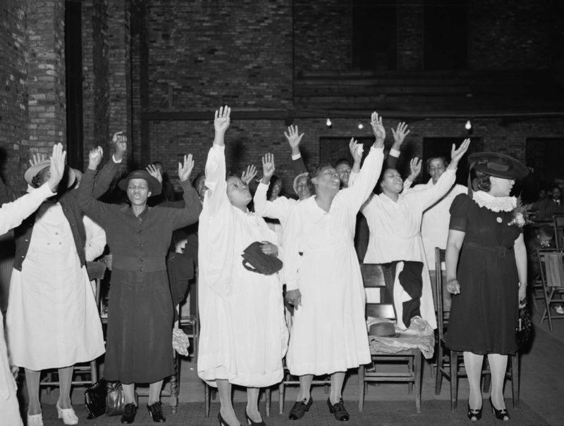 Negro Church Service