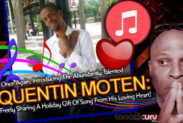 QUENTIN MOTEN Shares The Holiday Gift Of Song In Orlando Florida! – The LanceScurv Show
