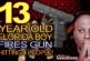 13 Year Old Florida Boy FIRES GUN Into Crowd Hitting 4 People! – The LanceScurv Show