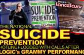 The National Suicide Prevention Hotline Flooded With Calls After Logic's Grammy Performance!