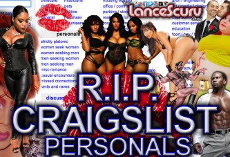 R.I.P. Craigslist Personals: The Freaks Will Still Find Each Other Regardless! - The LanceScurv Show