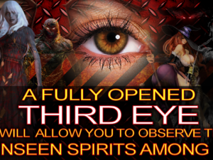 A FULLY OPENED THIRD EYE Will Allow You To Observe THE UNSEEN SPIRITS Among Us! -The LanceScurv Show