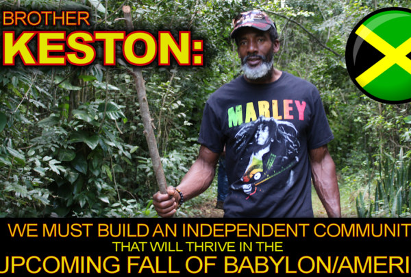 We Must Build An Independent Community That Will Thrive In The Upcoming Fall Of Babylon/America!