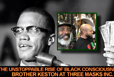 The Unstoppable Rise Of Black Consciousness: Brother Keston At Three Masks Inc. – The LanceScurv Show