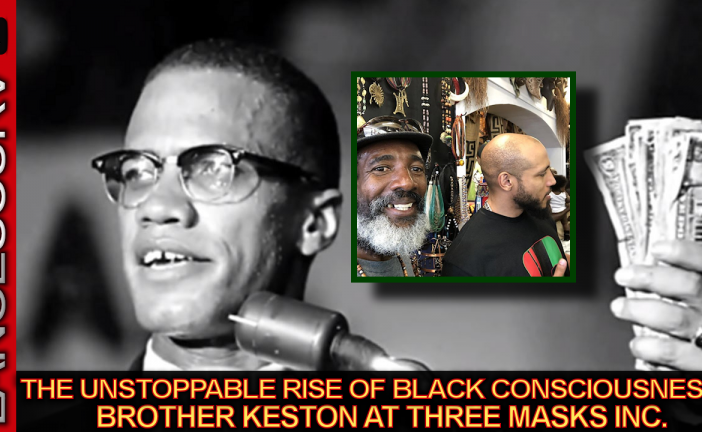 The Unstoppable Rise Of Black Consciousness: Brother Keston At Three Masks Inc. - The LanceScurv Show