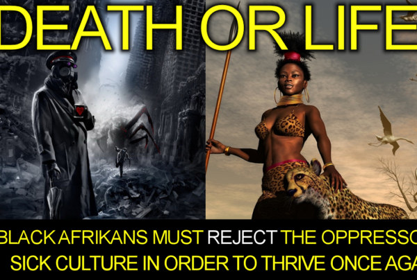 Black Afrikans Must Reject The Oppressor's Sick Culture In Order To Thrive Again! – The LanceScurv Show