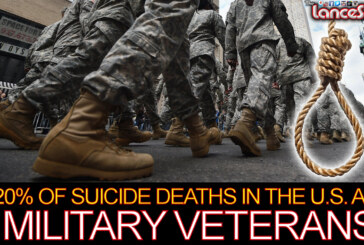 20% Of Suicide Deaths In The U.S. Are Military Veterans! – The LanceScurv Show