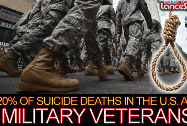 20% Of Suicide Deaths In The U.S. Are Military Veterans! - The LanceScurv Show