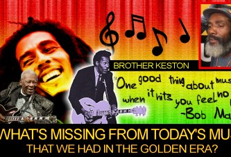 What's Missing From Today's Music That We Had In The Golden Era? - Brother Keston