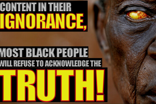 Content In Their Ignorance, Most Black People Will Refuse To Acknowledge The Truth! – The LanceScurv Show
