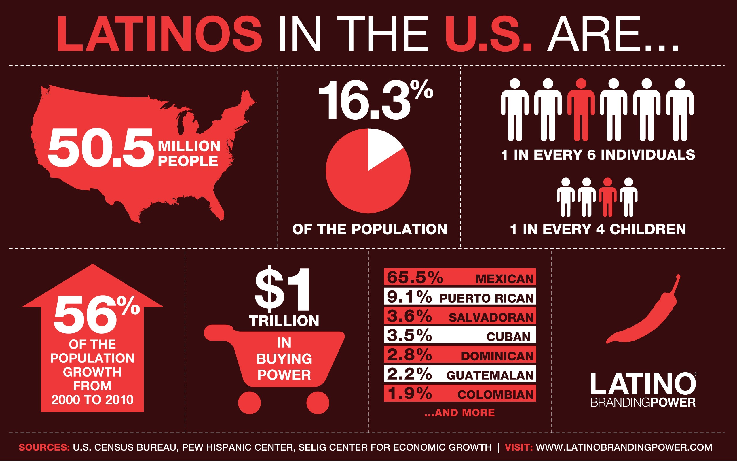 Latino Infographic