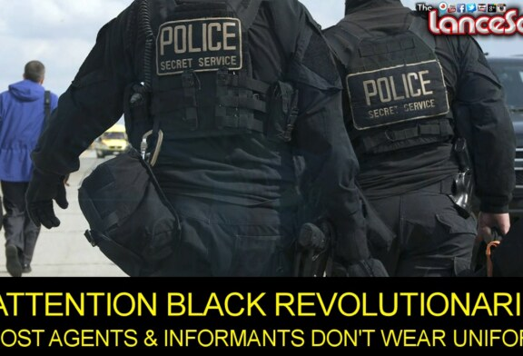 MOST AGENTS & INFORMANTS DON'T WEAR UNIFORMS! – The LanceScurv Show