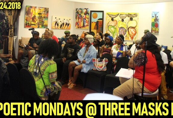POETIC MONDAYS AT THREE MASKS INC. – SEPTEMBER 24, 2018