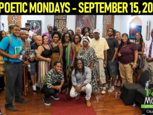 POETIC MONDAYS AT THREE MASKS INC. – SEPTEMBER 17, 2018