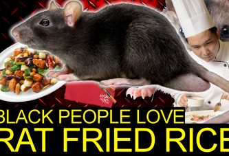 BLACK PEOPLE LOVE CHINESE TAKE OUT RAT FRIED RICE! - The LanceScurv Show