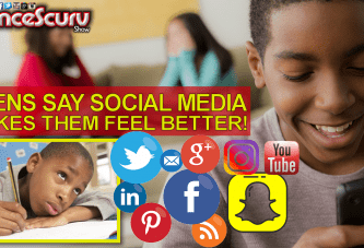 TEENAGERS SAY SOCIAL MEDIA MAKES THEM FEEL BETTER! - The LanceScurv Show