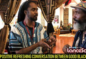 A POSITIVE REFRESHING CONVERSATION BETWEEN GOOD BLACK MEN! - The LanceScurv Show