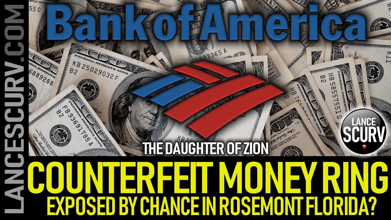 Counterfeit Money Ring Exposed By Chance In Rosemont Florida? - The LanceScurv Show