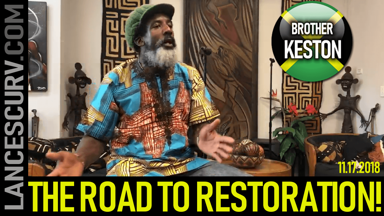 The Road To Restoration!