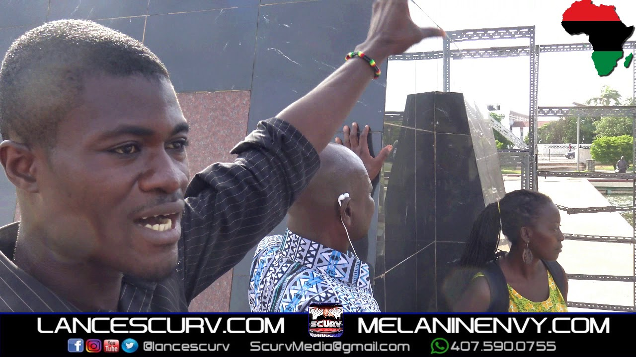 A VISIT TO THE HISTORIC KWAME NKRUMAH MAUSOLEUM IN ACCRA GHANA! - THE LANCESCURV SHOW