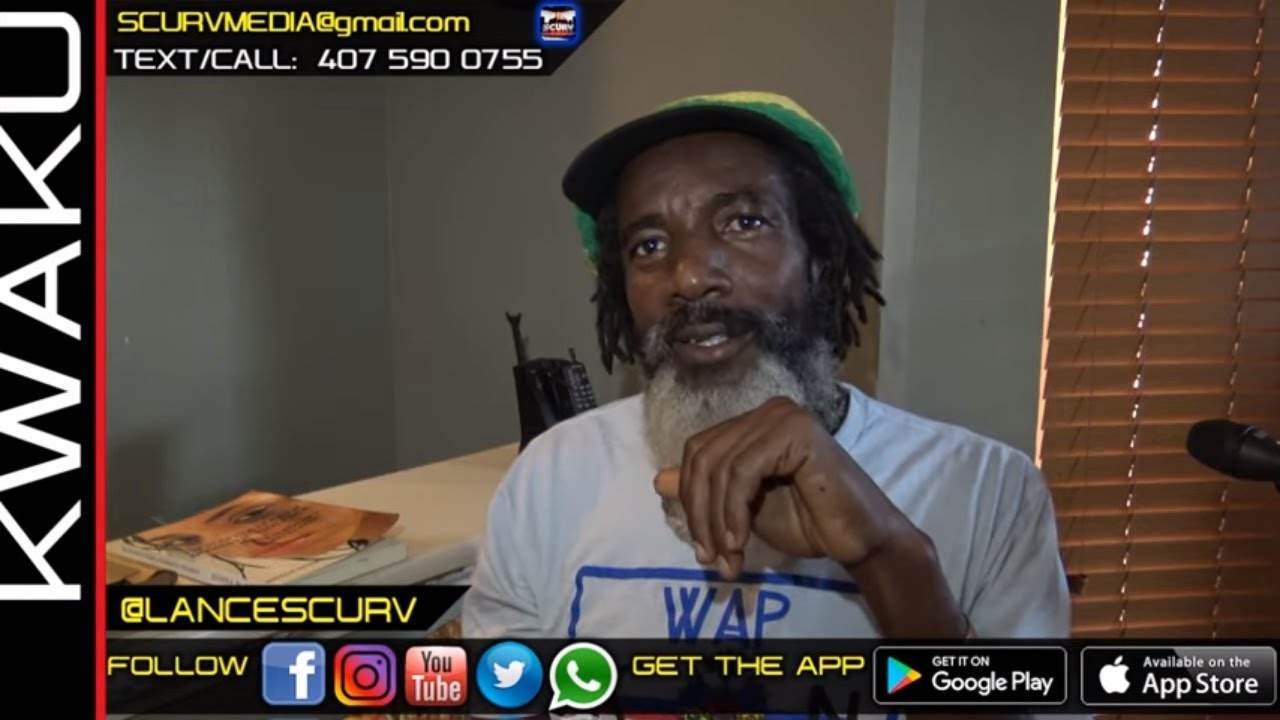 A WHITE MAN COULD NEVER BE A RASTA BY ANY MEANS POSSIBLE! - BROTHER KWAKU