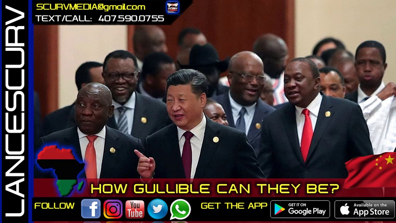 AFRICAN LEADERS: HOW GULLIBLE CAN THEY BE? - The LanceScurv Show