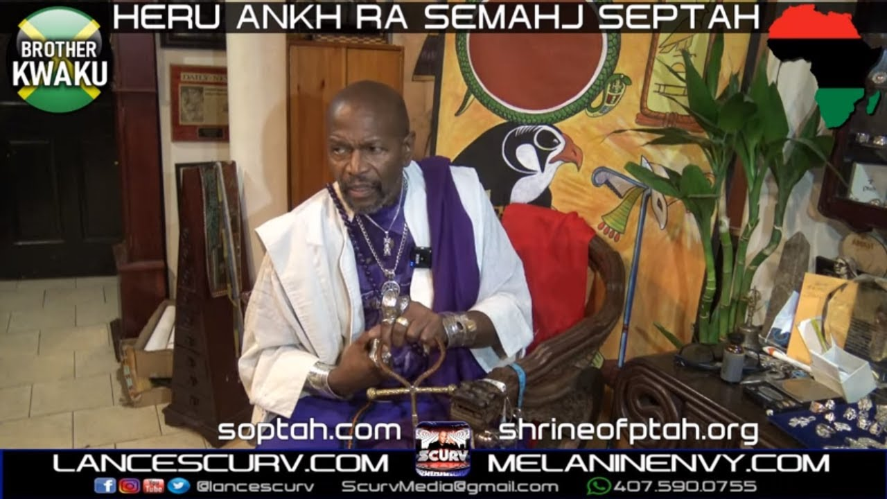 BABA HERU ANKH RA SEMAHJ SEPTAH, BROTHER KWAKU & HEALER BROTHER YAGGA IN A CLASSIC CONVERSATION!