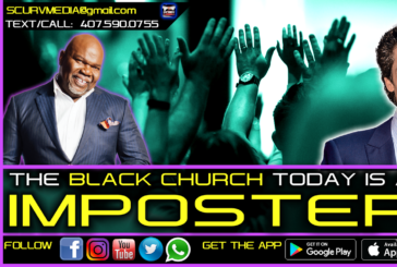 THE BLACK CHURCH TODAY IS AN IMPOSTER TO WHAT IT USED TO BE IN THE PAST!