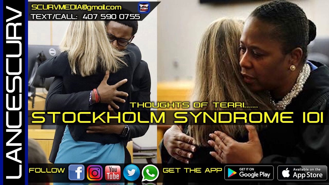 BLACK PEOPLE AND STOCKHOLM SYNDROME 101: THOUGHTS OF TERRI/The LanceScurv Show